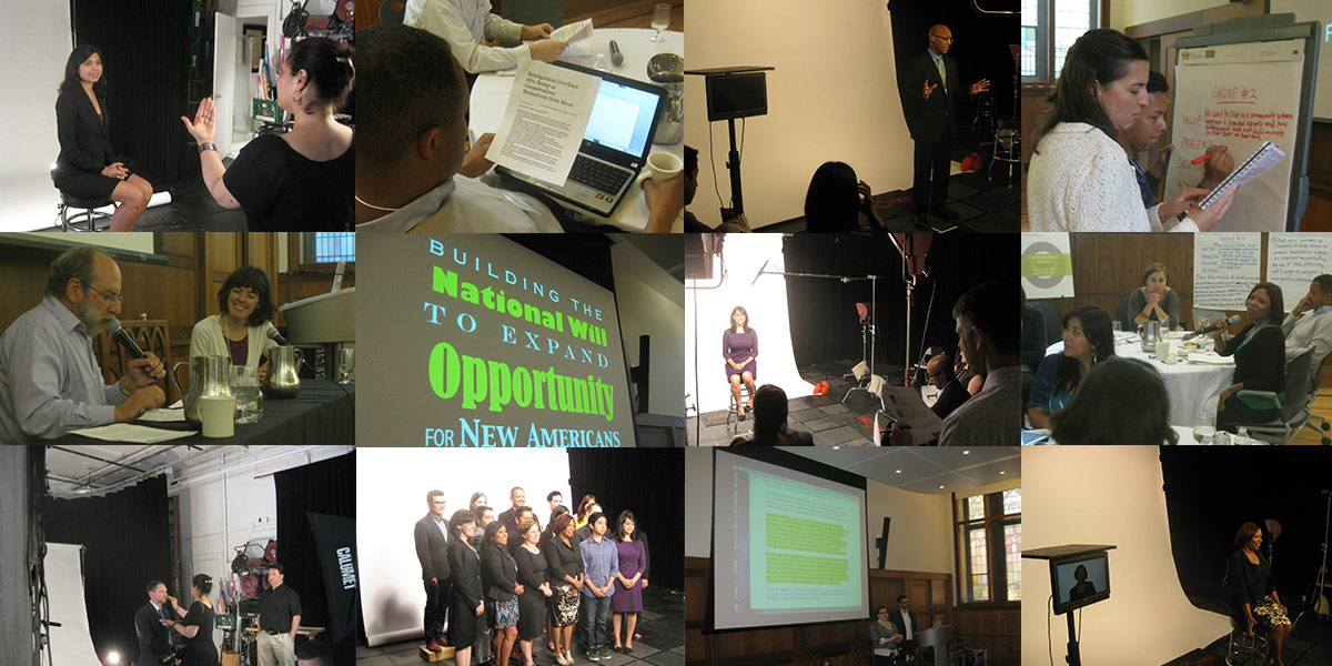 Photo collage of the 2013 Communications Institute
