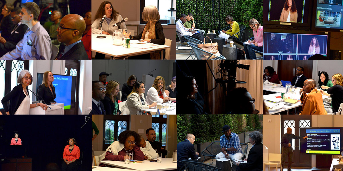 Photo collage of the 2015 Communications Institute