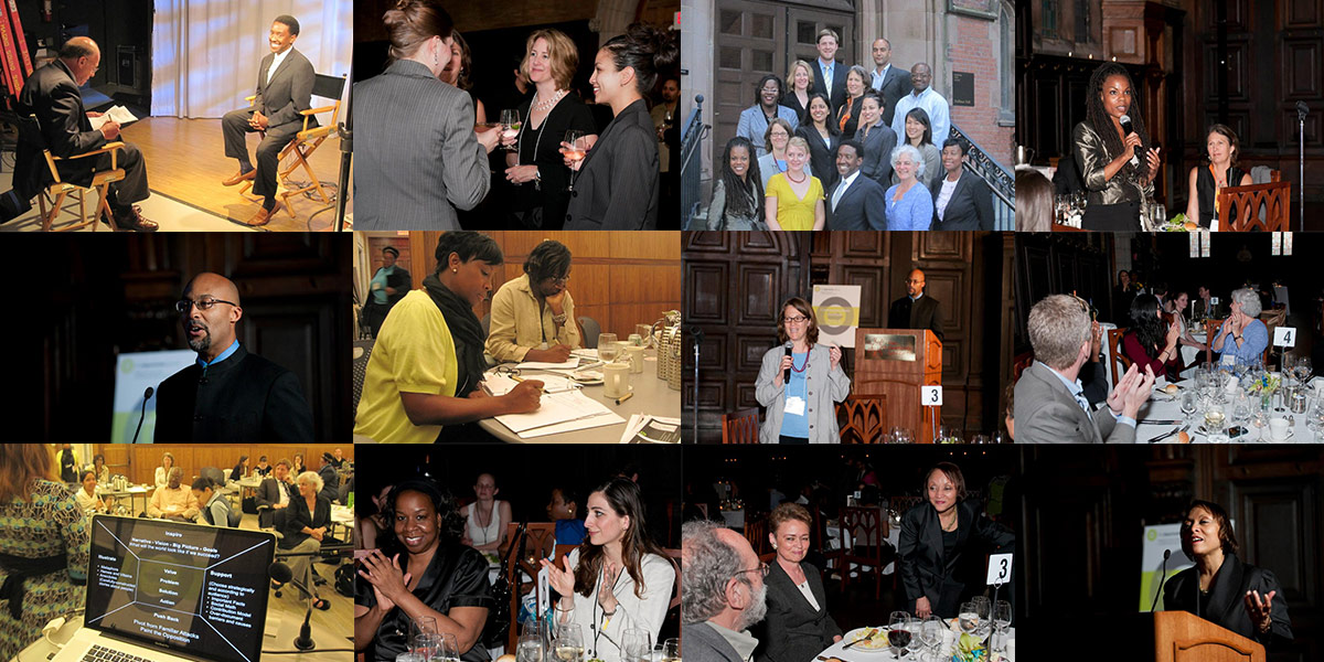 Photo collage of the 2011 Communications Institute