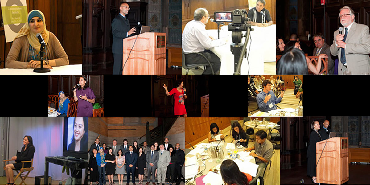 Photo collage of the 2012 Communications Institute