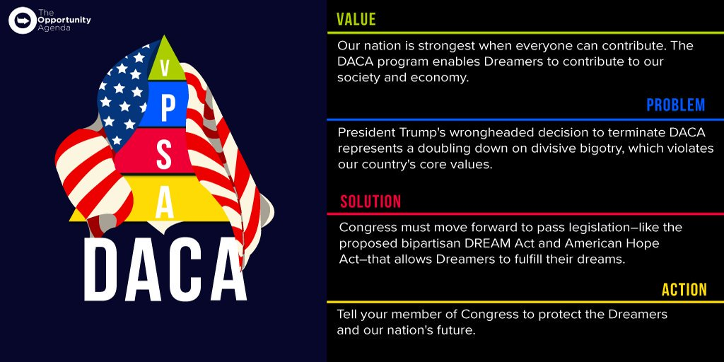 A VPSA message to support the passage of a clean DREAM Act
